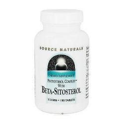 Source Naturals Beta Sitosterol 113 mg tablets - 180 ea