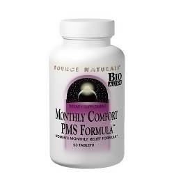 Source Naturals monthly comfort tablets, PMS formula - 90 ea