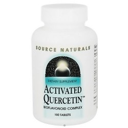Activated quercetin bioflavonoid complex tablets - 100 ea