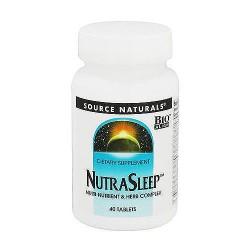 Source Naturals Nutra sleep tablets - 40 ea