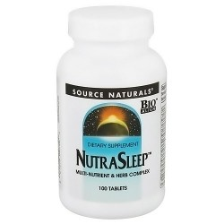 Source Naturals Nutra sleep tablets _ 100 ea