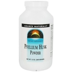 Source Naturals Psyllium husk powder by Source Naturals - 12 oz