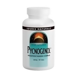 Source Naturals Pycnogenol Proanthocyanidin Complex 50 mg Tablets - 60 ea