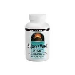 Source Naturals St. Johns wort standardized extract 300 mg capsules - 240 ea