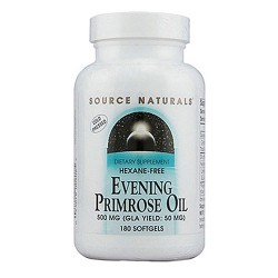 Source Naturals Evening primrose oil 500 mg softgels - 180 ea