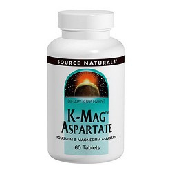 Source Naturals K-Mag aspartate tablets - 60 ea