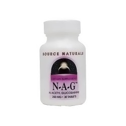 Source Naturals N-A-G 250 mg tablets - 30 ea