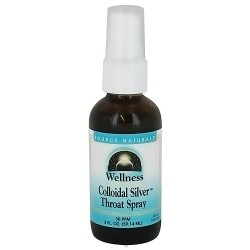 Wellness colloidal silver throat spray 30 PPM - 2 oz
