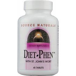 Source Naturals Diet Phen tablets, classic label - 45 ea