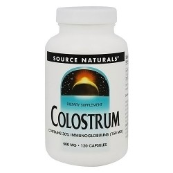 Source Naturals Colostrum 500 mg immunity build milk food capsules - 120 ea