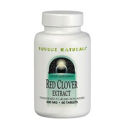 Source Naturals eternal women Red Clover Extract 500 mg tablets - 60 ea