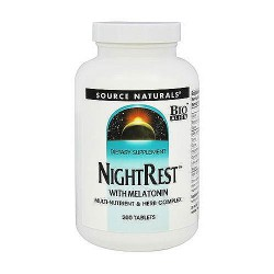 Source Naturals NightRest with Melatonin Tablets - 200 ea