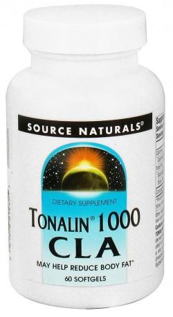 Tonalin 1000 CLA reduced body fat softgels - 60 ea