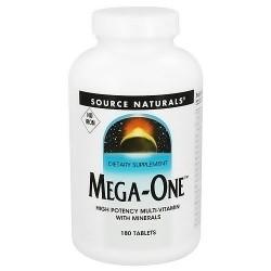 Source Naturals Mega-one tablets - 180 ea