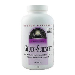 Source Naturals Gluco-Science tablets - 180 ea