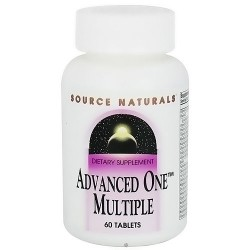 Source Naturals Advanced one multiple tablets - 60 ea
