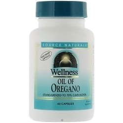 Source Naturals Wellness Oil of Oregano, 45mg - 60 Capsules