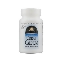 Source Naturals Calcium coral 600 mg tablets - 60 ea