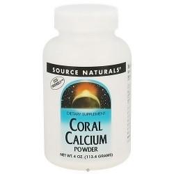Source Naturals Coral Calcium powder - 4 oz