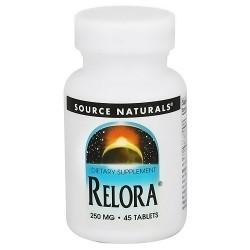 Source Naturals Relora 250 mg tablets - 45 ea