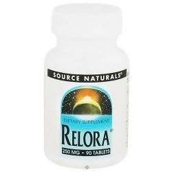 Source Naturals Relora 250 mg tablets - 90 ea