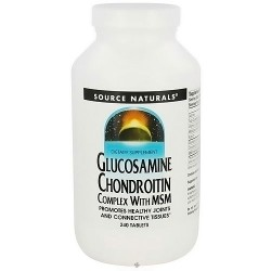 Source Naturals Glucosamine Chondroitin Complex with MSM Tablets - 240 ea