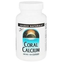 Coral calcium 600 mg capsules - 120 ea
