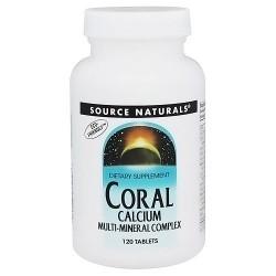 Source Naturals Calcium coral multi-mineral complex tablets - 120 ea