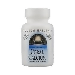 Coral calcium 1200 mg tablets - 30 ea