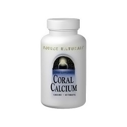 Source Naturals Calcium coral 1200 mg tablets - 60 ea