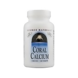 Source Naturals Coral calcium 1200 mg tablets - 120 ea