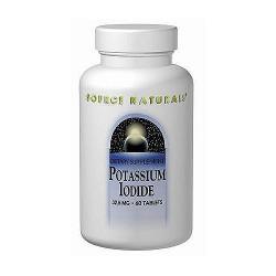 Source Naturals Potassium Iodide 32.5 mg Tabletss - 60 ea