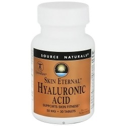 Source Naturals Hyaluronic acid skin eternal 50 mg tablets - 30 ea