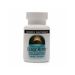 Source Naturals Ellagic active 300 mg tablets, Rasperberry extract - 30 ea