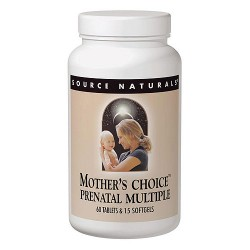 Source Naturals Mothers choice parental multiple - 120 ea