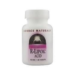Source Naturals R-Lipoic acid 50 mg tablets - 30 ea