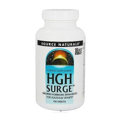 Source Naturals HGH Surge Growth Hormone Enhancer Tablets - 100 Ea