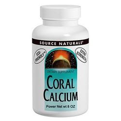 Source Naturals Coral Calcium powder - 8 oz