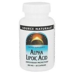 Source Naturals Alpha lipoic acid 300 mg tablets - 60 ea