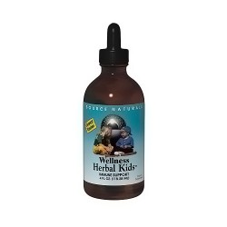 Wellness herbal kids immune support liquid - 4 oz
