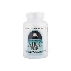 Source Naturals AHCC plus 500 mg capsules - 60 ea