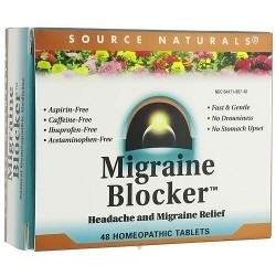 Source Naturals Migraine Blocker Homeopathic Tablets - 48 ea