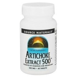 Source Naturals Artichoke extract 500 mg tablets - 45 ea