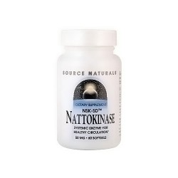 Source Naturals Nattokinase NSK-SD 50 mg softgels - 60 ea