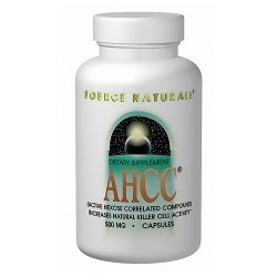 Source Naturals AHCC (Active hexose correlated compound) 750 mg capsules - 30 ea
