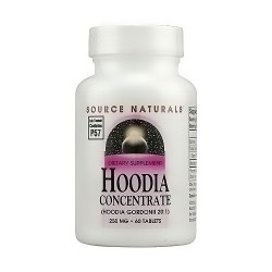 Source Naturals Hoodia concentrate 250 mg gordonii tablets - 60 ea