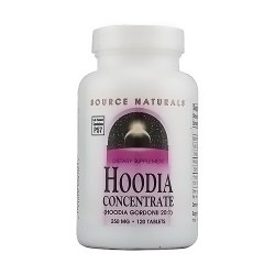 Source Naturals Hoodia concentrate 250 mg gordonii tablets - 120 ea