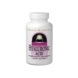 Source Naturals Hyaluronic acid 50 mg capsules - 30 ea