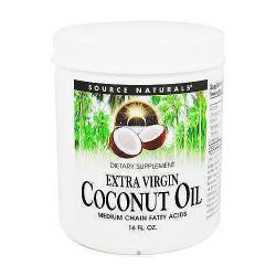 Extra virgin coconut oil, medium chain fatty acids - 16 oz