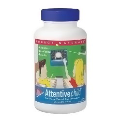 Source Naturals Attentivechild tablets for mental concentration - 30 ea